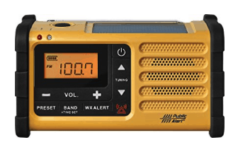 best emergency radio - sangean