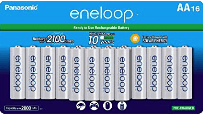 best rechargeable batteries - panasonic eneloop