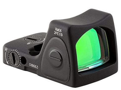 best red dot sight - trijicon rmr type 2
