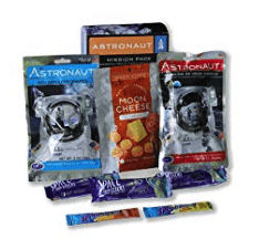 best freeze dried foods - astronaut snack pack