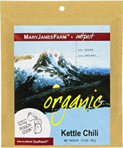 best freeze dried foods - maryjanesfarm kettle chili