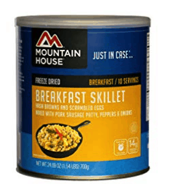 best freeze dried foods - mountain house breakfast skillet