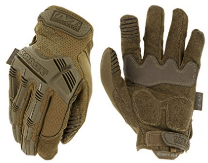 best shooting gloves - Mechanix Wear M-Pact Coyote